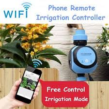 wifi automatic water tap timer garden irrigation controller phone remote control