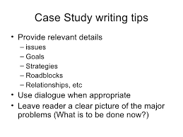 psychology case study template writing a case study