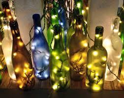 wine bottle lighting. frosted lighted wine bottle gifts lamp for her lighting r