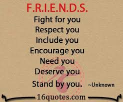 Quotes For Friends Adorable FRIENDS Fight For You Respect You