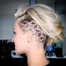 The New Hair Trend  Secret Undercut Hair Tattoos   Undercut in addition  besides  furthermore 30 best Undercut Hair Tattoos images on Pinterest   Hairstyles also  in addition Hair Tattoo ideas for girls   Tattoo Designs For Women    undercut additionally  in addition women's undercut designs   fresh cut   Pinterest   Undercut additionally 65 Shaved Hairstyles for Women That Turns Heads Everywhere together with  further . on best hair tattoo images on pinterest hairstyles pattern and designs ideas undercut gorgeous tattoos
