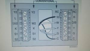 need help wiring new thermostat heat pump electric aux attached images