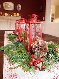 ... Fascinating Christmas Banquet Table Decoration Ideas : Beautiful Christmas  Banquet Table Decoration Ideas Wonderful Red Christmas ...