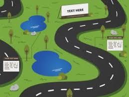 Arrow Roads Infographic Template Free Vectors Ui Download