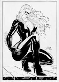 Small Picture Black Cat Marvel Coloring Pages