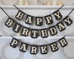 custom happy birthday banner custom happy birthday banner birthday party decoration
