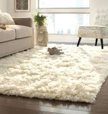 fuzzy rugs large pink furry rug greyworld