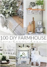 Small Picture 100 DIY Farmhouse Home Decor Ideas The 36th AVENUE