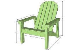 how to build a diy adirondack chair