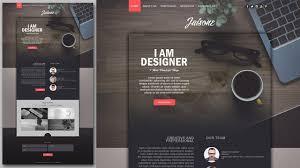 How To Code A Stylish Portfolio Design In Html Css Photoshop Website Design Tutorial Stylish Portfolio With