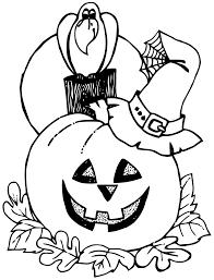Coloriage Citrouille Halloween Imprimer
