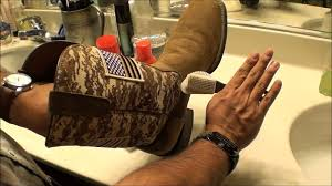 cowboy boot suede leather cleaning