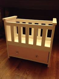 wooden baby doll cradle plans white ana white rosie s baby doll bed diy projects
