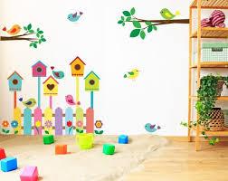birdhouse wall vinyl sticker nursery