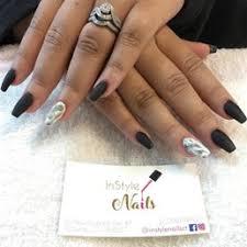photo of instyle nails norwalk ct united states full acrylic set
