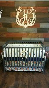 deer baby bedding sets deer head and arrow crib bedding in navy and by baby girl