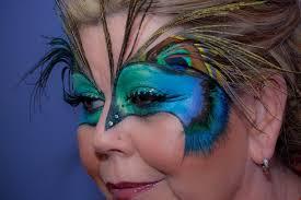 pea masquerade makeup mask