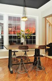 Industrial Kitchen Furniture Vintage Industrial Dining Room Table Amazing Retro Black Dining