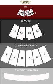 San Diego Open Air Theatre San Diego Ca Seating Chart