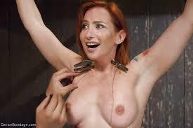 Pictures of females nipple bondage