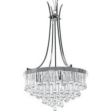 lighting graceful orb chandelier with crystals 22