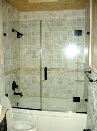 frameless shower door tub shower enclosures door for bathtub
