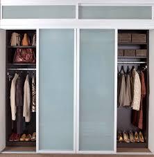 closet sliding doors modern closet new york