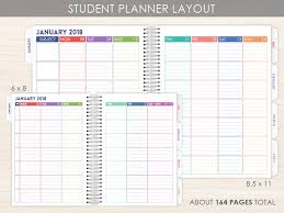 Student Daily Planner With Subjects Student Planners Are Here Purpletrail Planners