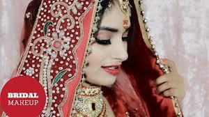indian bridal makeup tutorial in hindi shimmery eyes wedding makeup look