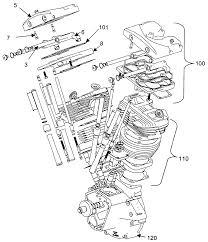 Harley davidson engine rotation inspirational patent us twin cylinder motorcycle engine patents
