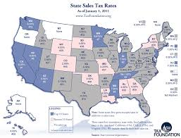 Monday Map State Sales Tax Rates Tax Foundation