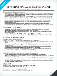 Sample Project Manager Resume Objective Sample Project Manager Resume Project Manager Resume Sample Sample 89