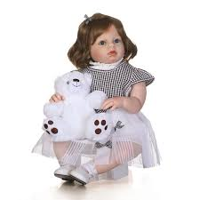 Aliexpress.com : Buy <b>70cm Silicone Reborn</b> Baby Girl Doll Toy ...