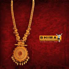 Bhima Gold Jewellery Designs Mangalsutra Bhima Jewelry Traditional Gold Chain Gold Temple
