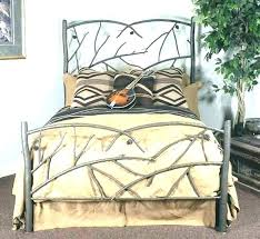 Iron Bed Frames King Cal King Metal Bed Frame King Iron Bed Cal King ...