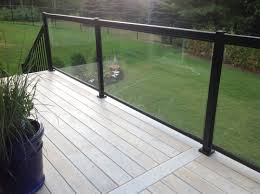 our signature regal railing tempered glass panels provide homeowners a safe and durable unobstructed view