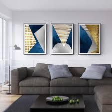 <b>3 Panel Canvas</b> Wall <b>Art</b> Blue Ocean Sea Waves <b>Painting</b> The ...