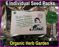 organic kitchen herb kit indoor herb