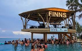 infinity pool bali. Unique Pool Finns Beach Club Canggu Infinity Pool To Bali