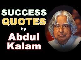 Abdul Kalam Quotes Success Quotes By Dr APJ Abdul Kalam YouTube Unique Success Quotes For Men