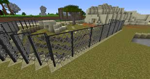 how to make a fence in minecraft. Lion Cage Chain Link Fence. This Was Hell To Make :) Couldn\u0027t Find Any Textures I Like For Style So Chisel And Bitted My Own. How A Fence In Minecraft