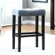 grey leather counter stools with backs gray wood bar creative fantastic backless g