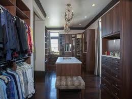 Huge Closets dual master closets including huge woman s closet sitting area 6000 by xevi.us