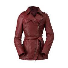 hoboken leather women s leather jacket