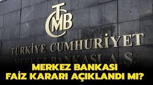 Merkez Bankası faiz kararı için heyecanlı bekleyiş!