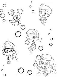 Small Picture Bubble Guppies Coloring Pages Pdf Archives Best Of Bubble Coloring