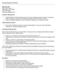 Nurse Supervisor Resume - The Best Of Magic Resume
