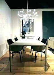 height of chandelier over dining table room light standard to hang