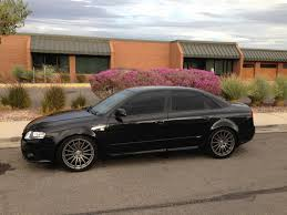 blacked out audi a4. thread iisaints 2008 audi a4 sline ti quattro phantom black project blacked out r