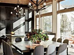 breakfast area lighting. Breakfast Area Lighting. 85 Most Exemplary Rustic Dining Room Stephen Sills Assoc Aspen Colorado Lighting E
